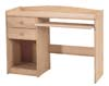 image of Pine Promo 2 Drawer Computer Desk