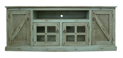 Extra Wide Rustic TV Stand