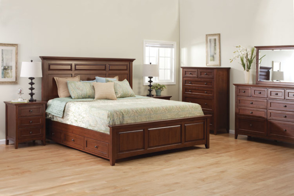 mckenzie mantle bedroom set howard hill furniture