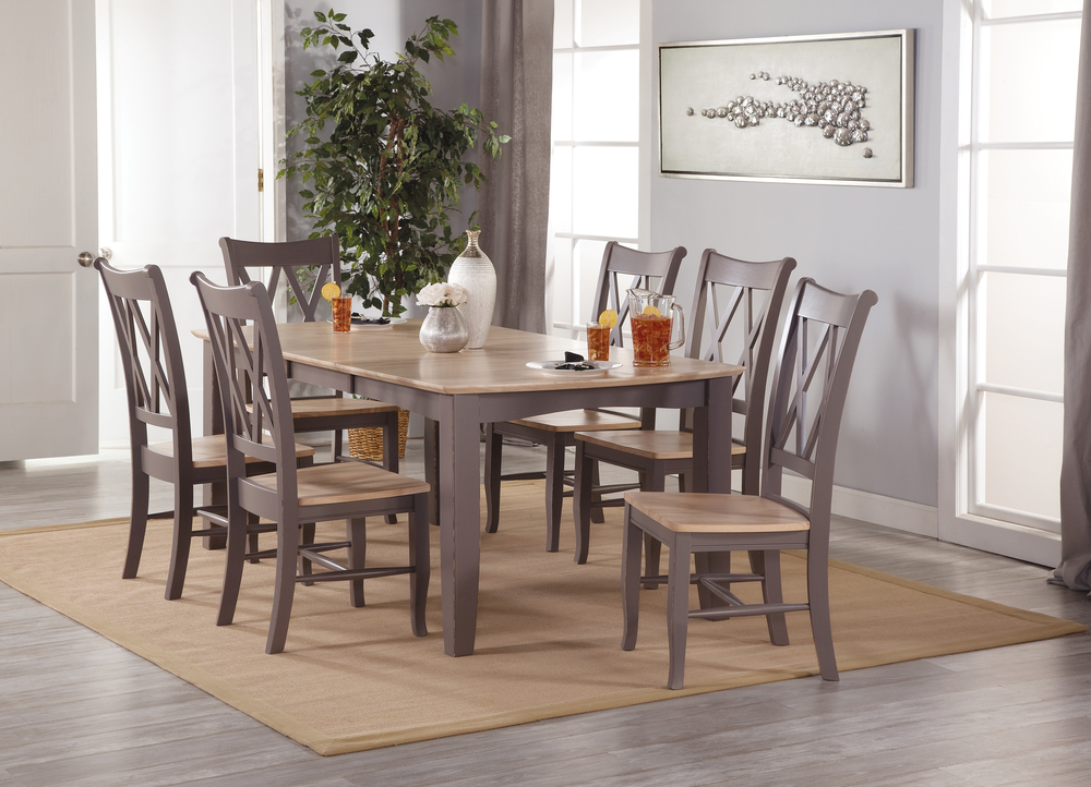 Bow End Table Dining Set Howard Hill Furniture