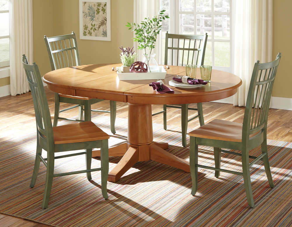 Birdcage Chair Round Table Dining Set Howard Hill Furniture