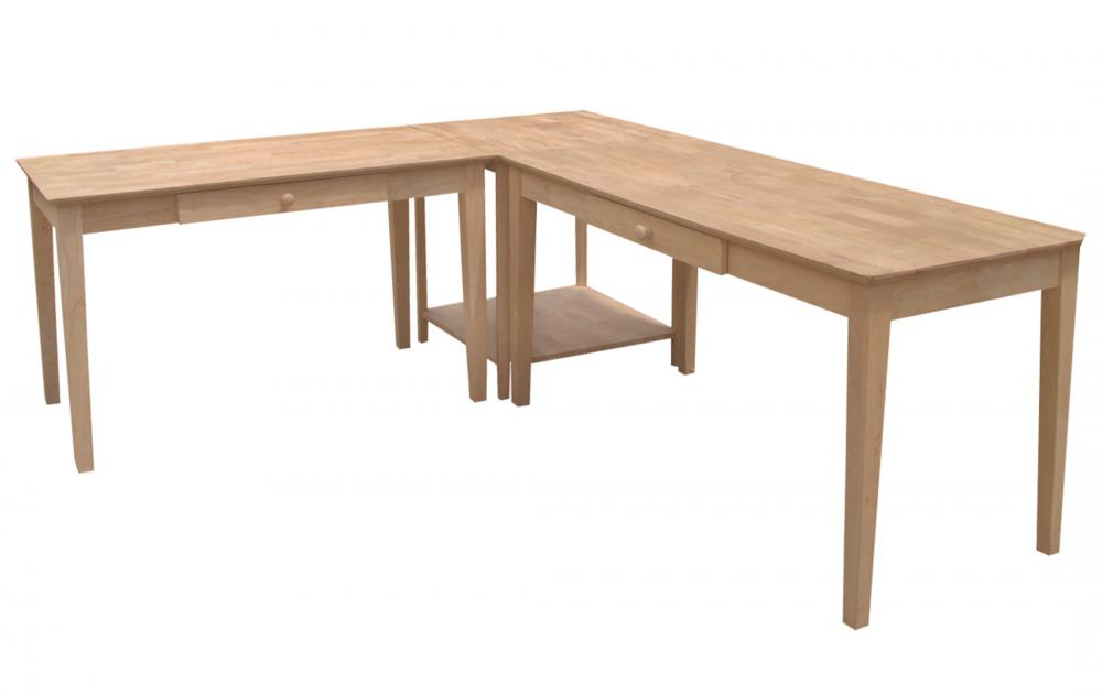 Parawood 3 Piece L Shaped Desk Howard Hill Furniture