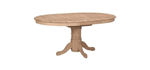 48 Inch Round Extension Table Top Only Howard Hill Furniture